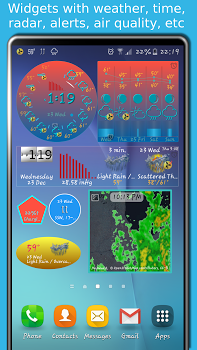 eWeather HD with Weather alerts v7.1.3