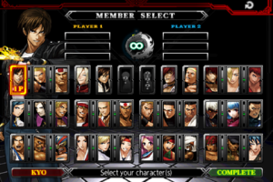 تصویر محیط THE KING OF FIGHTERS-A 2012 v1.0.8 + data