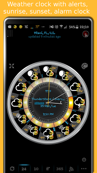 eWeather HD with Weather alerts v7.8.4