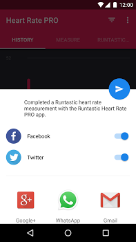 Runtastic Heart Rate PRO v2.5