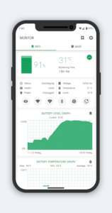 تصویر محیط Battery Manager (Saver) v8.3.5