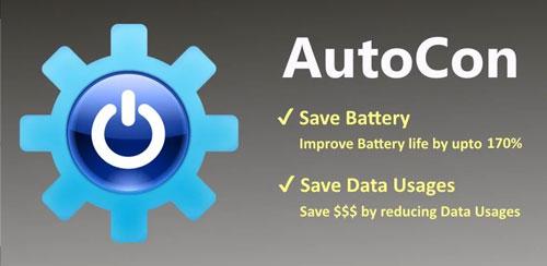 بهینه ساز شارژ اندروید AutoCon+ Save Battery & Data v18.060415
