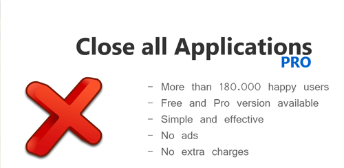 Close All Apps PRO v1.1.13
