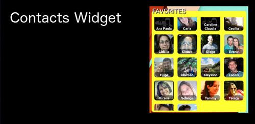 Contact Panel Widget v6.3.0.71