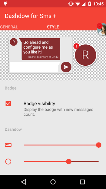 Dashdow SMS Plus v1.4