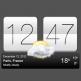 نرم افزار ساعت و هواشناسی Sense V2 Flip Clock & Weather v4.98.51