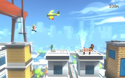 دانلود بازی جذاب Jumpy Rooftop اندروید