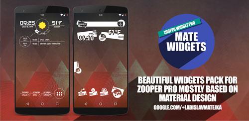 Mate Widgets for ZOOPER v1.6
