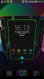 Next Launcher Theme Eva 3D v1.0