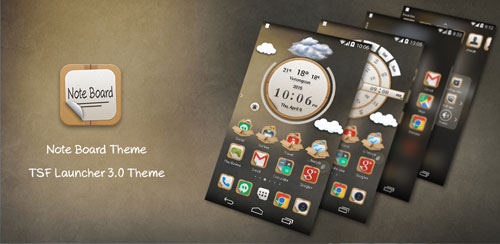 TSF Note Board Theme v1.0