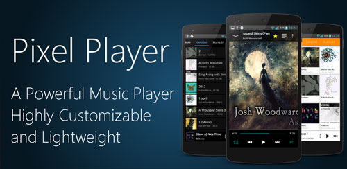 Pixel Music Player v3.0