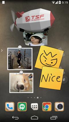 TSF Note Board Theme v1.0