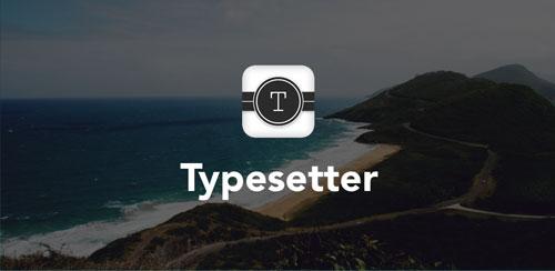 نرم افزار زیبا کردن عکس ها Typesetter v1.11114