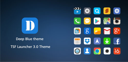 TSF DeepBlue Theme v1.0