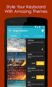 Ginger Keyboard – Emoji, GIFs v7.10.05