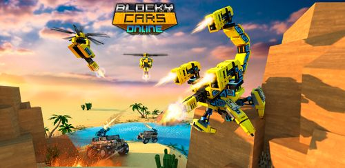 Blocky Cars – Online Shooting Games v7.6.5 + data