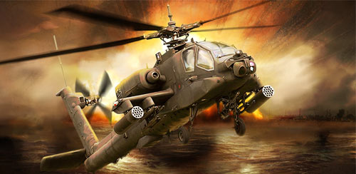 GUNSHIP BATTLE: Helicopter 3D v2.6.74