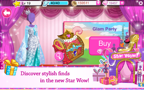 Star Girl – Fashion, Makeup & Dress Up v4.2.2