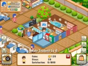 تصویر محیط Hotel Story: Resort Simulation v2.0.9