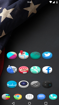 3D icon Pack theme v1.1