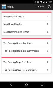 تصویر محیط Followers Insight for Instagram v2.5.1