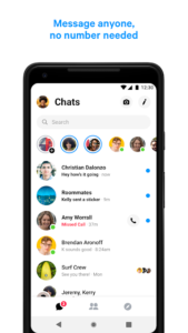 تصویر محیط Messenger – Text and Video Chat for Free v220.0.0.18.121
