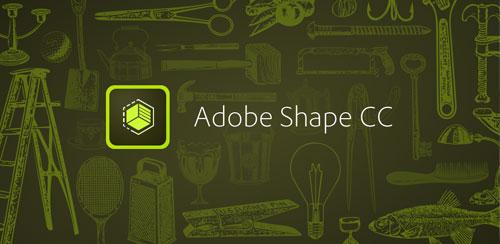 نرم افزار ادوبی شیپ Adobe Shape CC v1.1.117