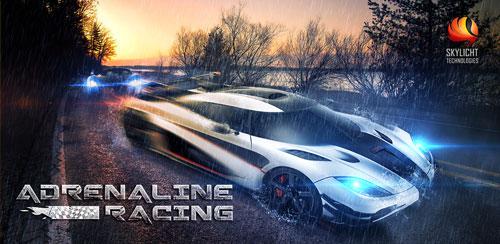 بازی مسابقات آدرنالین Adrenaline Racing: Hypercars v1.0.6