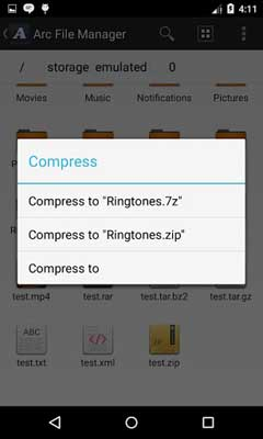 Arc File Manager v2.2.1