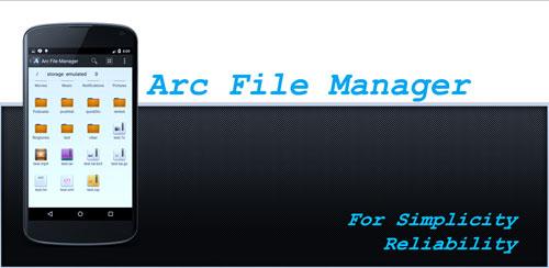 Arc File Manager v2.2.1