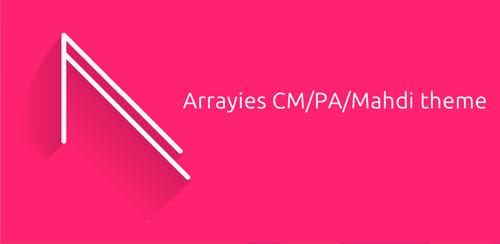 Arrayies Magenta CM12 theme v1.0
