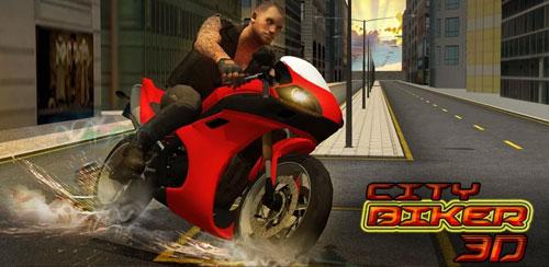 بازی موتورسواری City Biker 3D v1.0