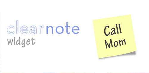 Clear Note Widget Sticky Notes v2.1