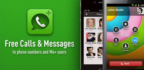 دانلود برنامه Free Calls & Text by Mo+  مخصوص گوشی های اندروید