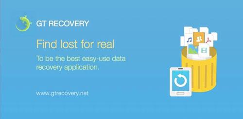 دانلود نرم افزار GT Data Recovery برای اندروید