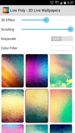 Low Poly – 3D Live Wallpapers v1.3