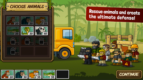 Lumberwhack: Defend the Wild v3.3.1