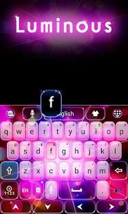 Luminous GO Keyboard Theme 1.65.6.2