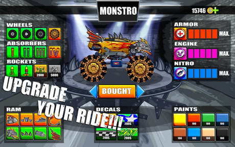Mad Truck – Hill Climb Racing v4.2.1
