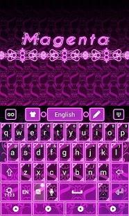 Magenta Keyboard 1.61.15.11