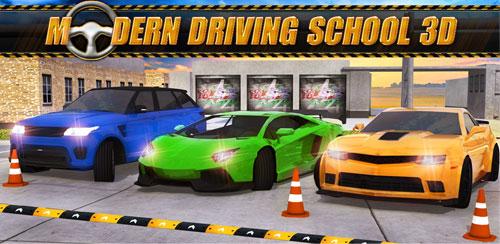 دانلود بازی Modern Driving School 3D برای گوشی اندروید