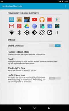 Notification Shortcuts v4.1.0