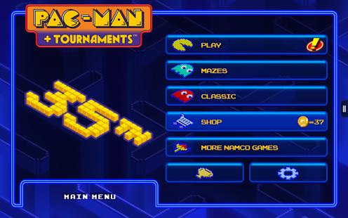 PAC-MAN + Tournaments 1.1.7