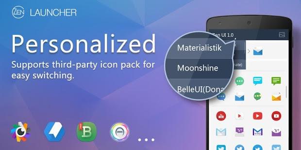ZEN Launcher + Notification Plugin v1.5.7