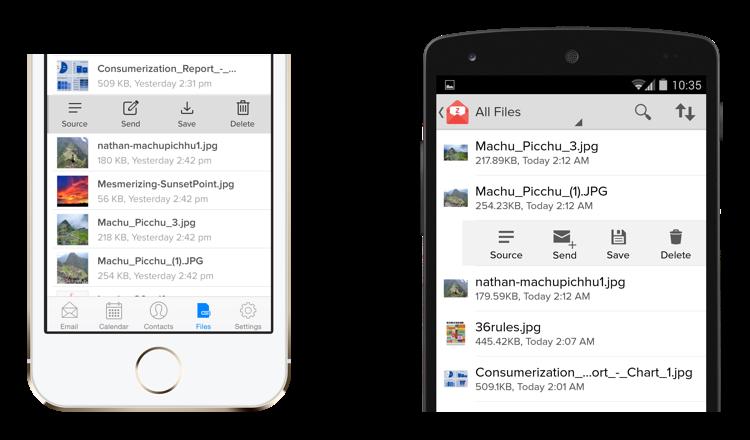 Zoho Mail 1.1