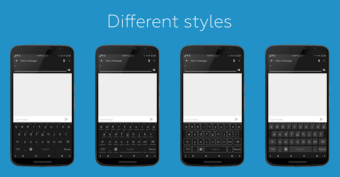 Flat Style Colored Keyboard v3.3.2