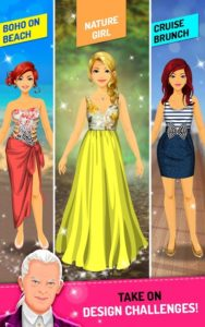تصویر محیط Star Fashion Designer v2.2