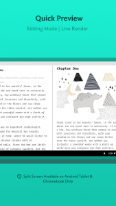تصویر محیط JotterPad – Writer, Screenplay, Novel v13.0.11-pi
