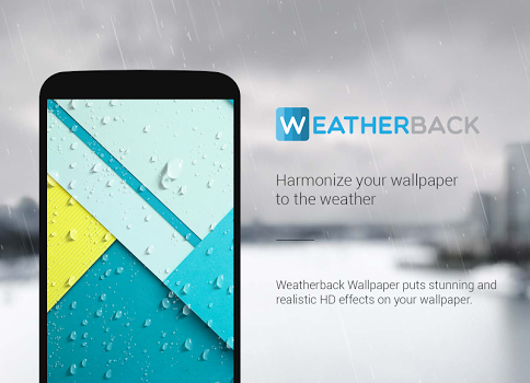 Weatherback Weather Wallpaper SALE v3.0.0.0