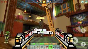 تصویر محیط Cops N Robbers – 3D Pixel Craft Gun Shooting Games v9.6.0